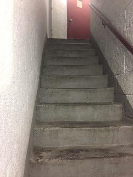 Bad boy stairs